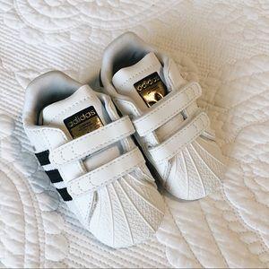 adidas Originals Superstar Crib Shoe Size 2